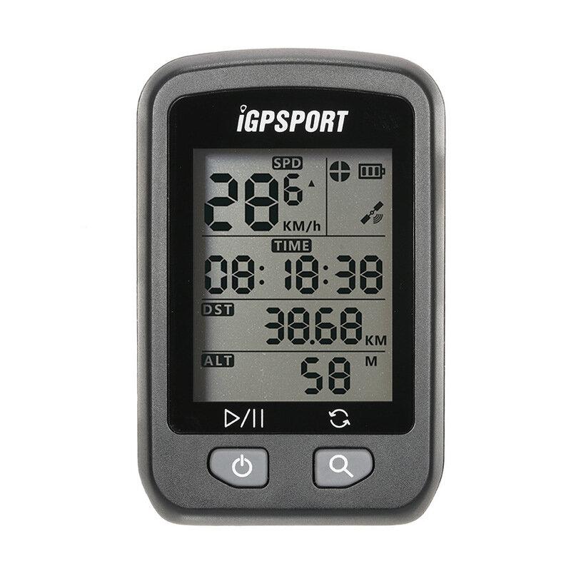 iGPSPORT iGS20Eワイヤレス自転車コンピュータGPS IPX7防水サイクリングスピードメータデータコードテーブル