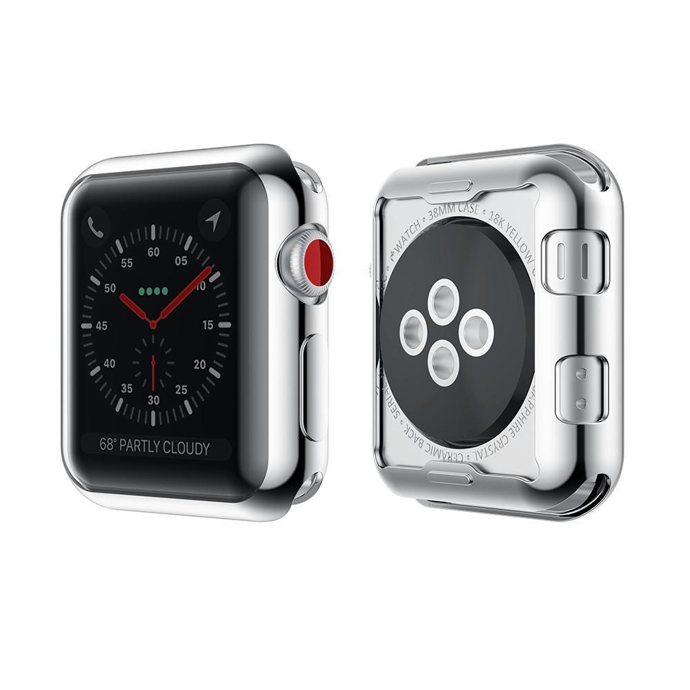 Bakeey Chapeamento TPU Watch Protective Caso Para maçã Watch Series 3 38mm / 42mm