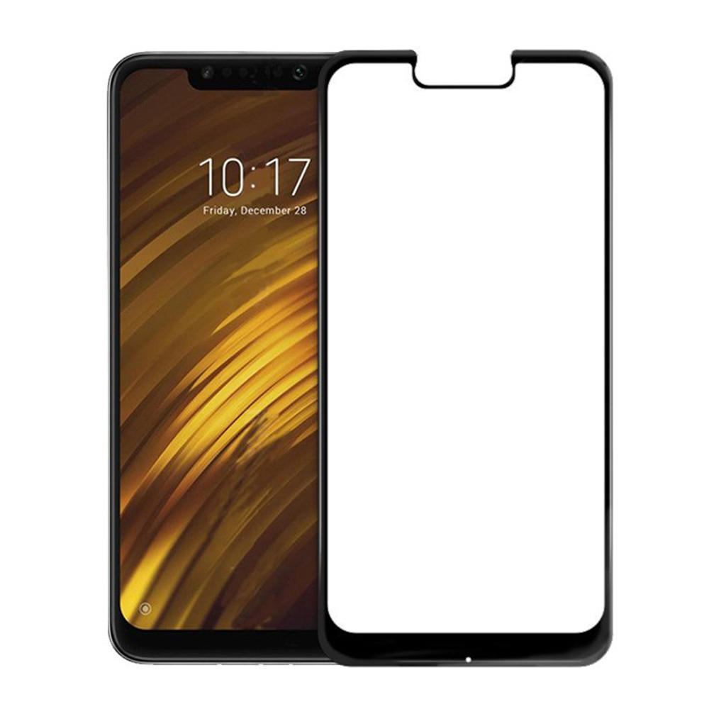 Bakeey™ 5D Curved Anti-explosion Full Cover Tempered Glass Screen Protector for Xiaomi Pocophone F1