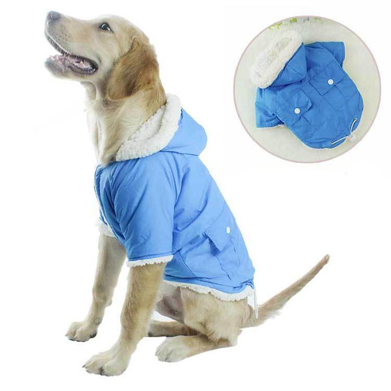 2018 Новые Собака Одежда Осень и Зима Plus Вельветовая Зима Теплый Собака Одежда Собака Одежда для Хлопок Одежда для животных