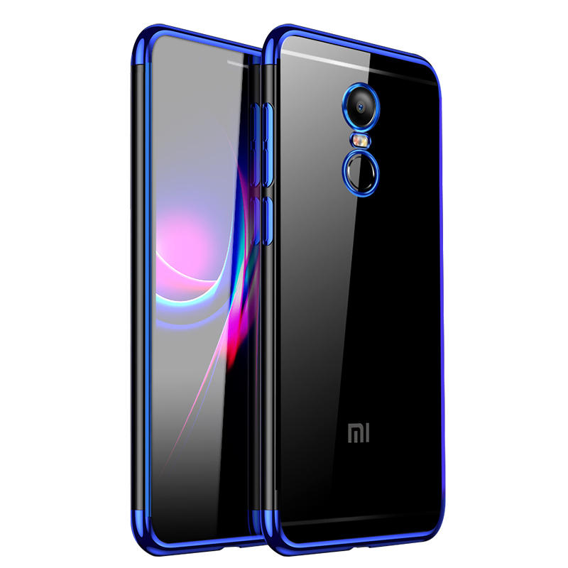 Bakeey Luxury Ultra Thin Color Plating Shock-proof Soft TPU Protective Case For Xiaomi Redmi 5P