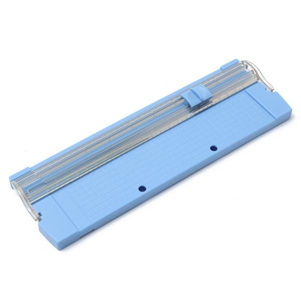 Portable Paper Trimmer for A4 Manual Paper Trimmer Cutter Blades 26 x 8.5cm