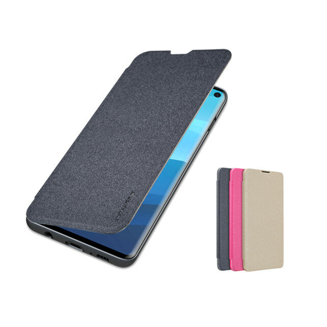 NILLKIN Slight PU Leather Full Cover Flip Anti-scratch Protective Case for Samsung Galaxy S10 Plus