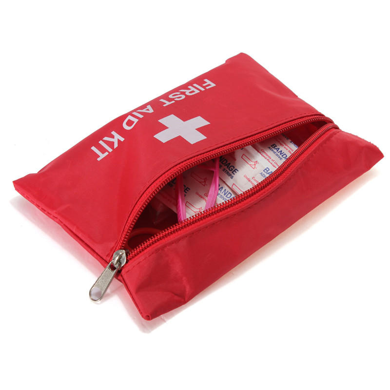 First Aid Bag Outdoor Hiking Camping Emergency Kit Sport Rescue Medical Treatment Without Drugs