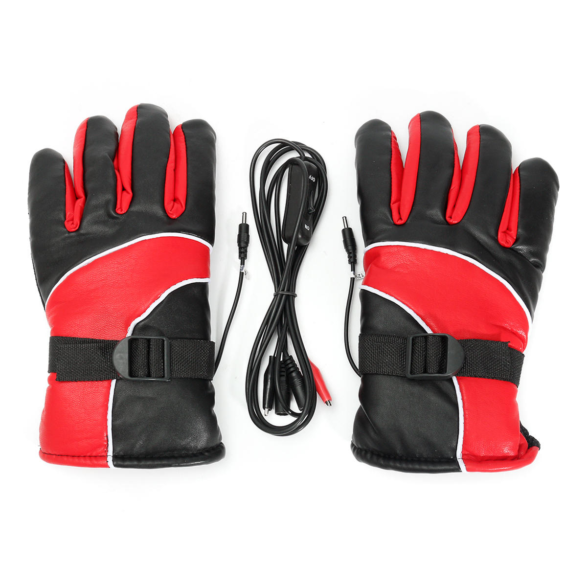 12V Warm Electric Aquated Warmer Winter Gloves Motorcycle Scooter E-bike