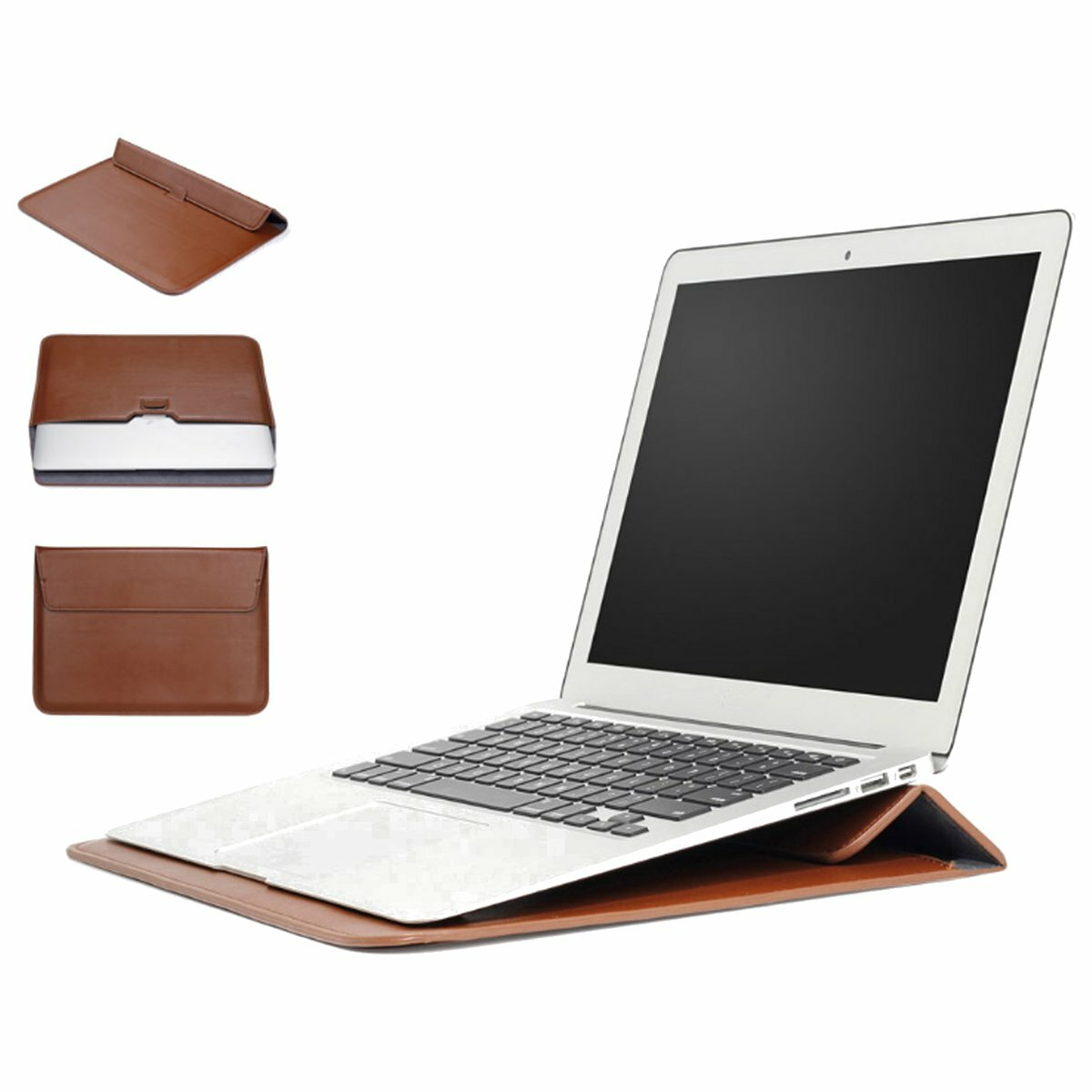 "Sleeve Case Laptop Bag With Stand Holder For 11.6""/13.3""/15.4"" Laptop/Notebook/Macbook"