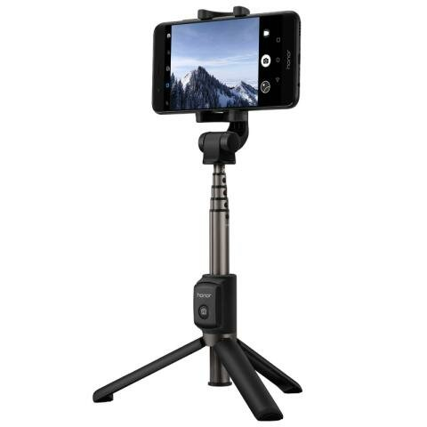 Huawei Honor Wireless bluetooth Tripod 360 Degree Rotation Adjustable Selfie Stick for Cell Phone