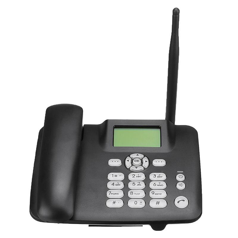 Настольный телефон Беспроводной телефон 4G Wireless GSM Настольный телефон SIM-карта Настольный телефонный аппарат