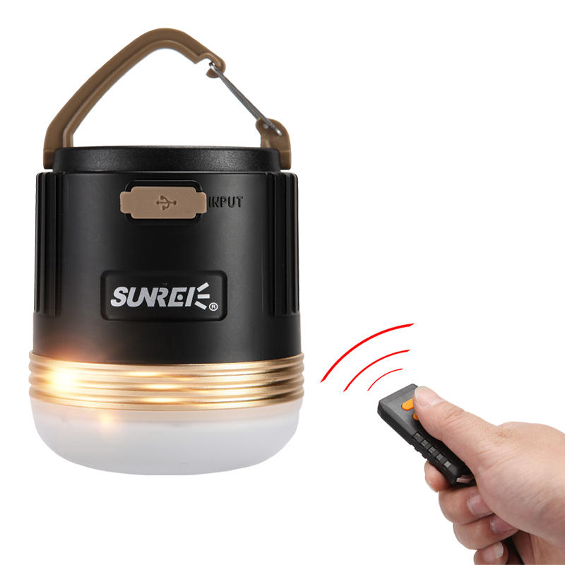 SUNREI CC3 Rechargeable Camping Emergency Light Portable LED Lamp 9900mAh Power Bank