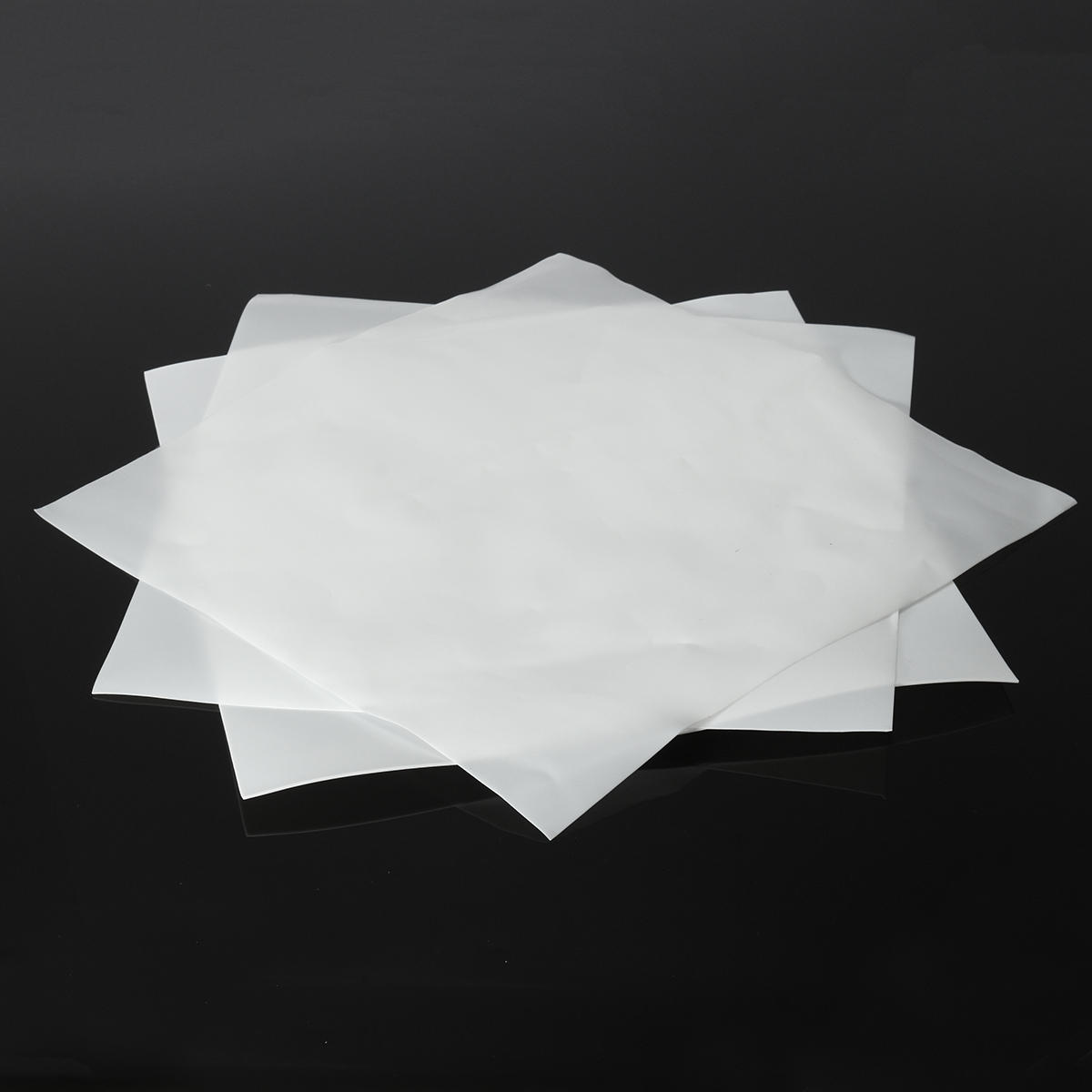 300×300mm PTFE Film Sheet Plate High Temperature Resistance Sheet Plate Thickness 0.3mm 0.5mm 1mm