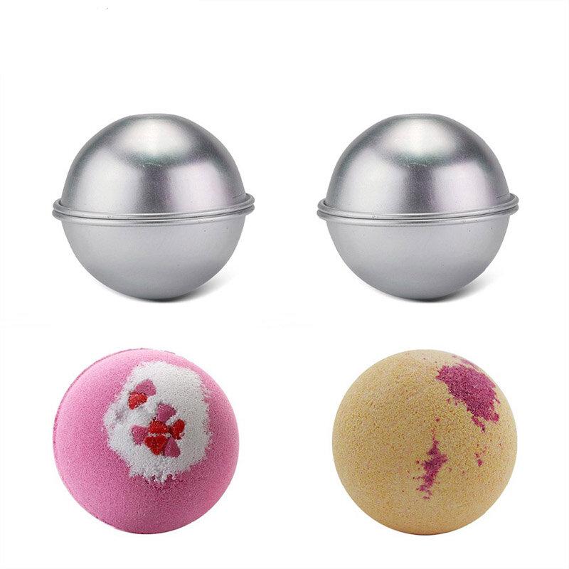 Bomba do kąpieli Formy 3D Ball Sphere Metalowy kształt stopu aluminium Kształt narzędzia kąpielowe Akcesoria do majsterkowania Kreatywne formy