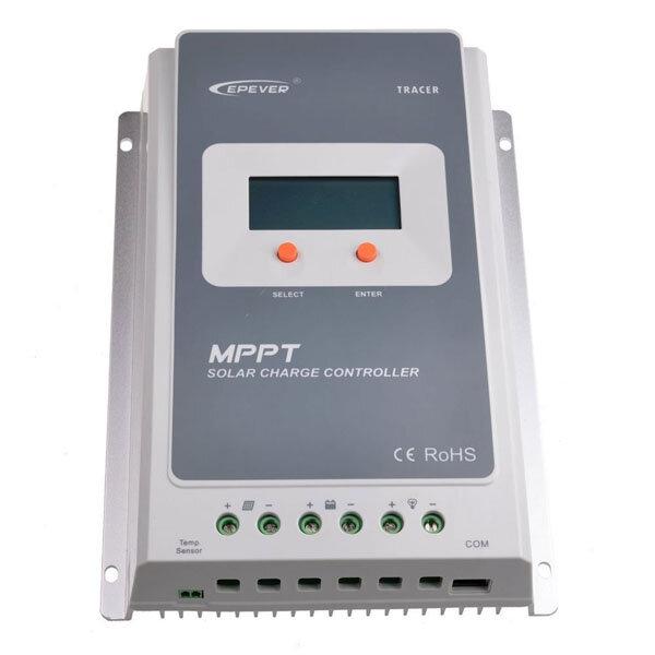 Epever Tracer LCD Diaplay 10A / 20A / 30A / 40A 12V / 24V Auto MPPT Solar Charge Controller Podłącz Solar Panel Słoneczny regulator baterii