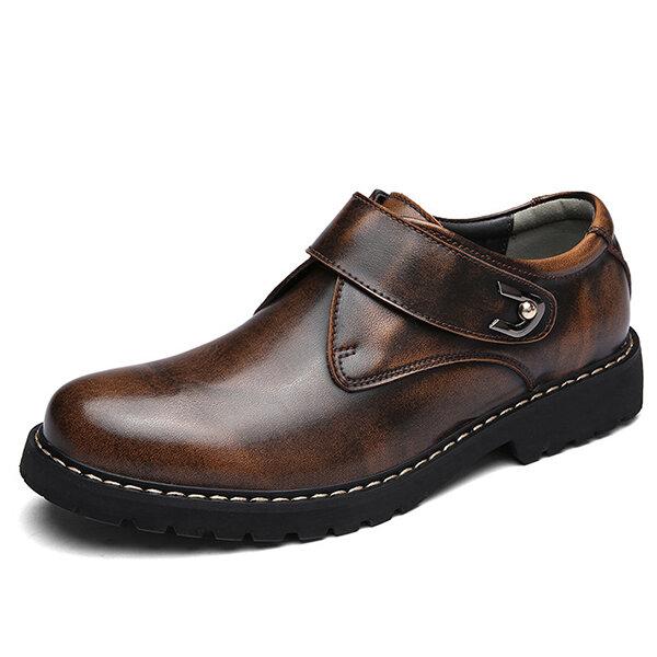 Мужчины Винтаж Повседневная деловая кожаная формальная обувь
