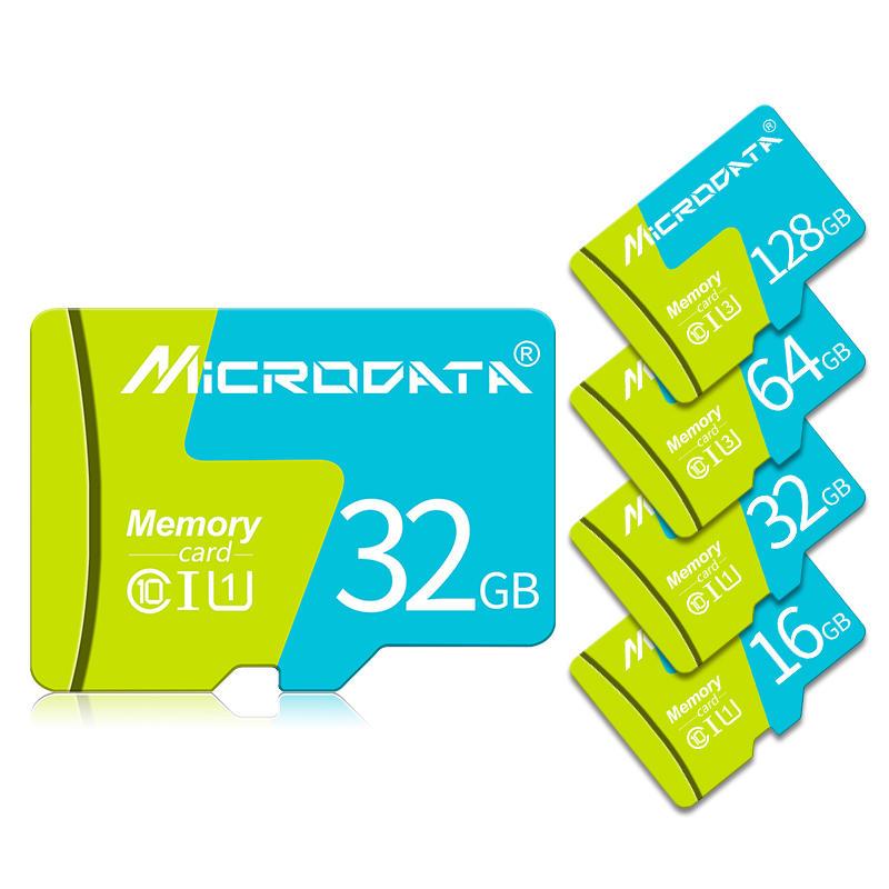 MicroData 8 GB 16GB 32GB 64GB 128 GB Sınıf 10 Yüksek Hızlı TF Hafıza Kartı Kart Adaptörü Ile Cep Telefonu iPhone Samsung Tablet GPS Kamera Araba DVR