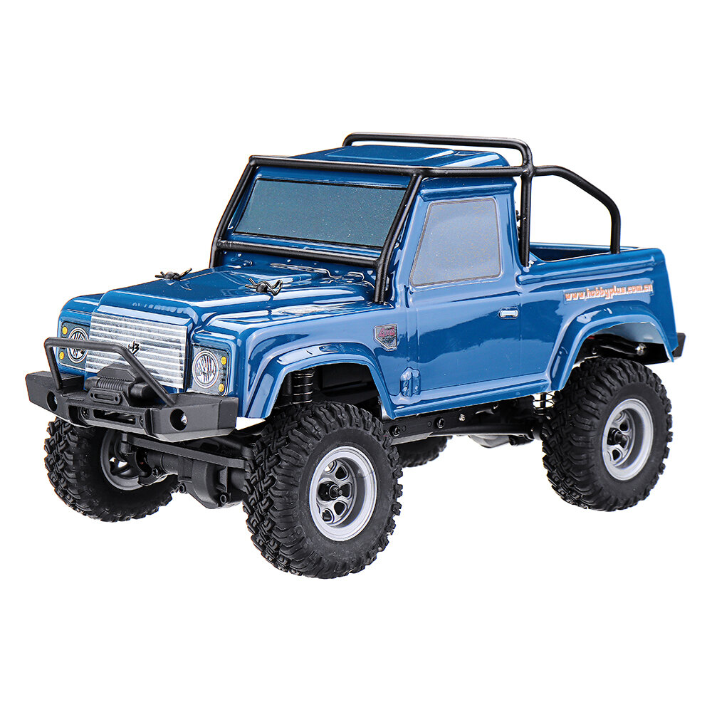 URUAV 1/24 4WD 2.4G Mini RC Car Crawler نموذج Vehicle ضد للماء RTR