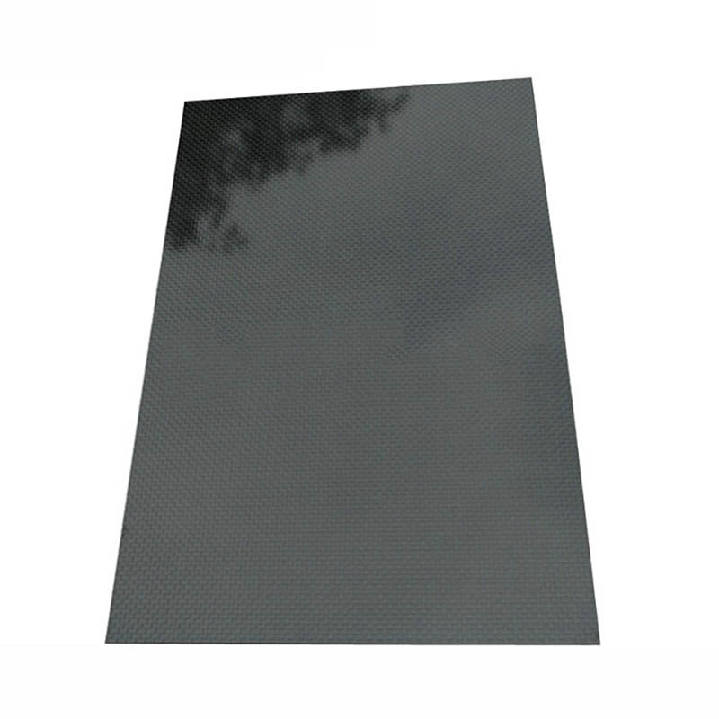 400x500x(0.5-5)mm 3K Black Plain Weave Carbon Fiber Plate Sheet Glossy Carbon Fiber Board Panel High Composite RC Material