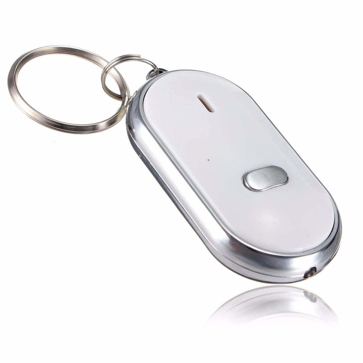 5pcs Whistle Key Finder Llavero Sonido LED Con Whistle Claps