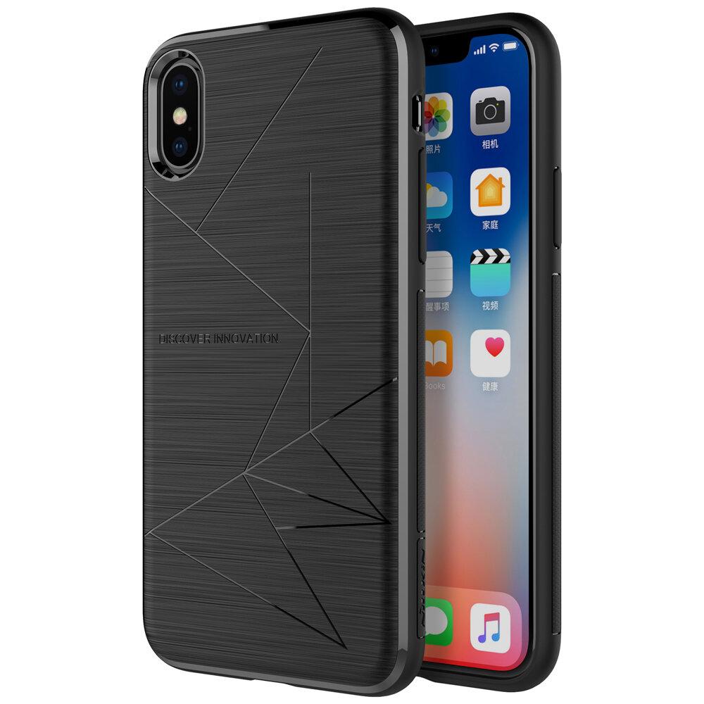 NILLKIN obsługuje bezprzewodowe ładowanie z magnetycznym futerałem ochronnym na iPhone X