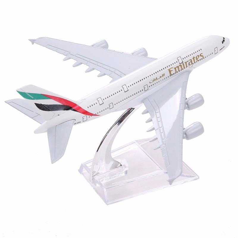 Brand New Airbus380 Emirates Air Line A-380 Aircraft Aeroplane Airplane 16cm Diecast Model