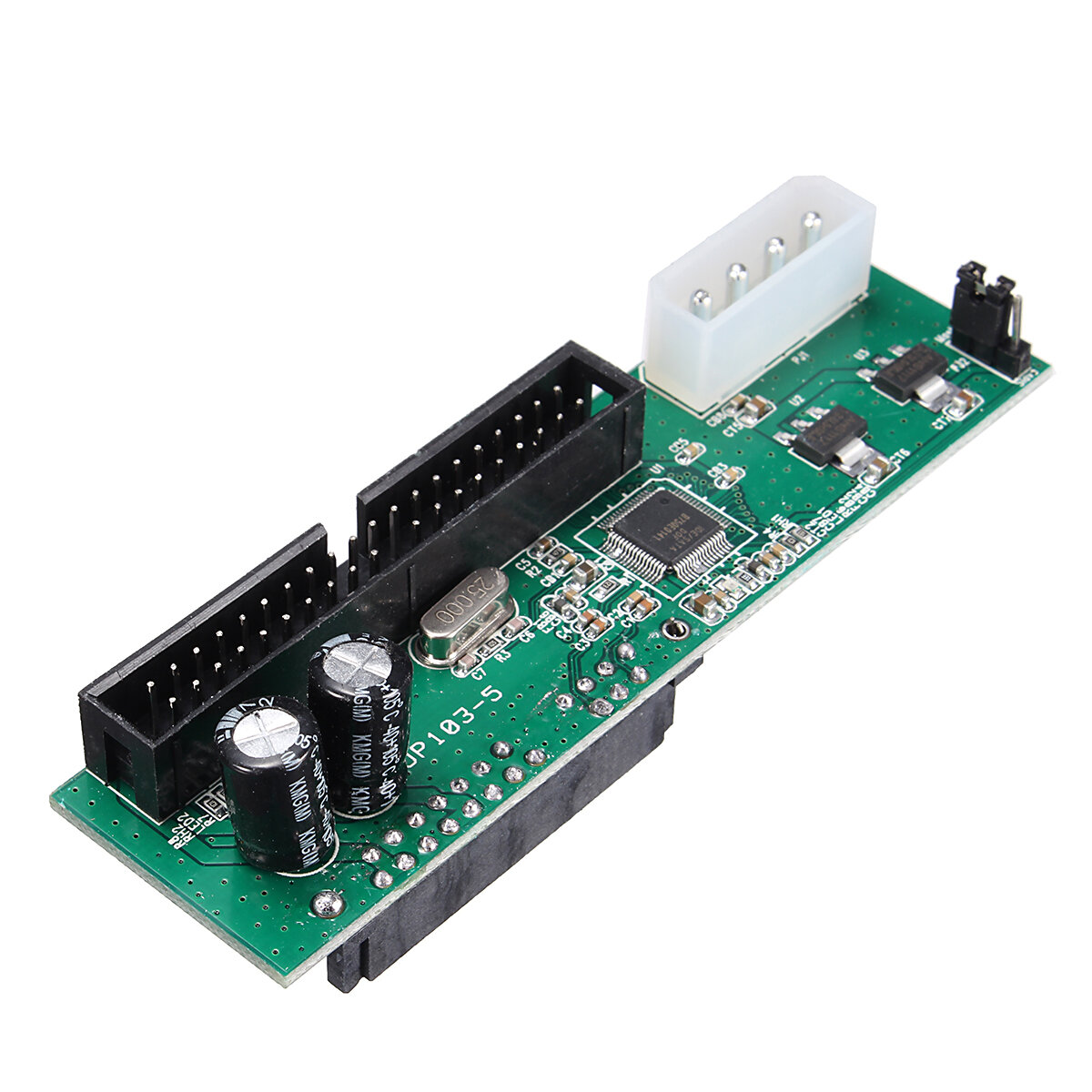 SATA para IDE Cartão de Conversão JM Chip Serial para Porta Paralela