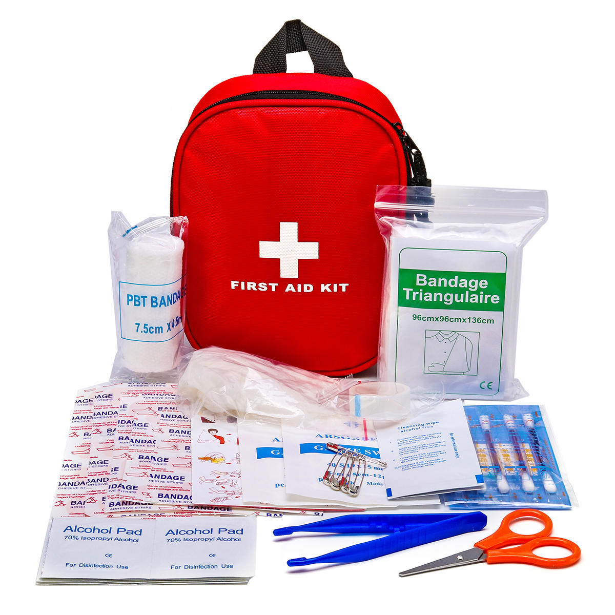 46Pcs IN 1 SOS Emergency Survival Kit First Aid Kit For Home Office Camping