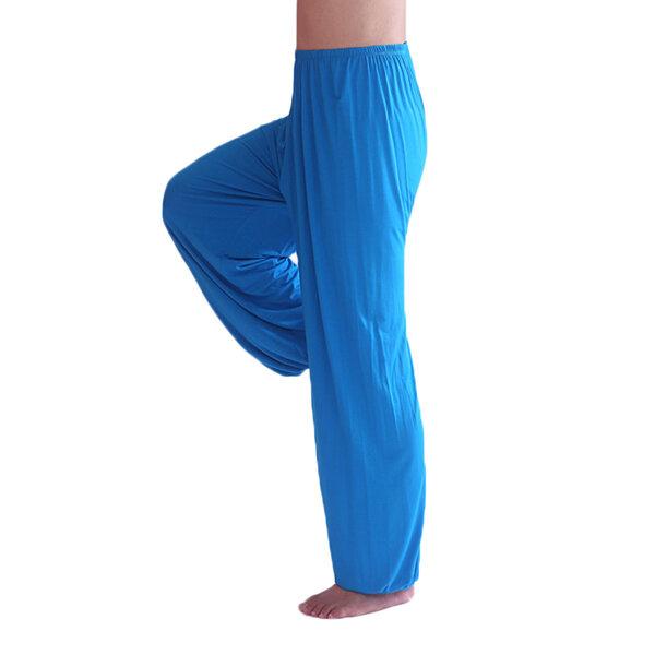 Männer Herren Sports Fitnessstudio Übung Yoga Lockere Elastische Taille Beiläufige Pumphose 9 Farben