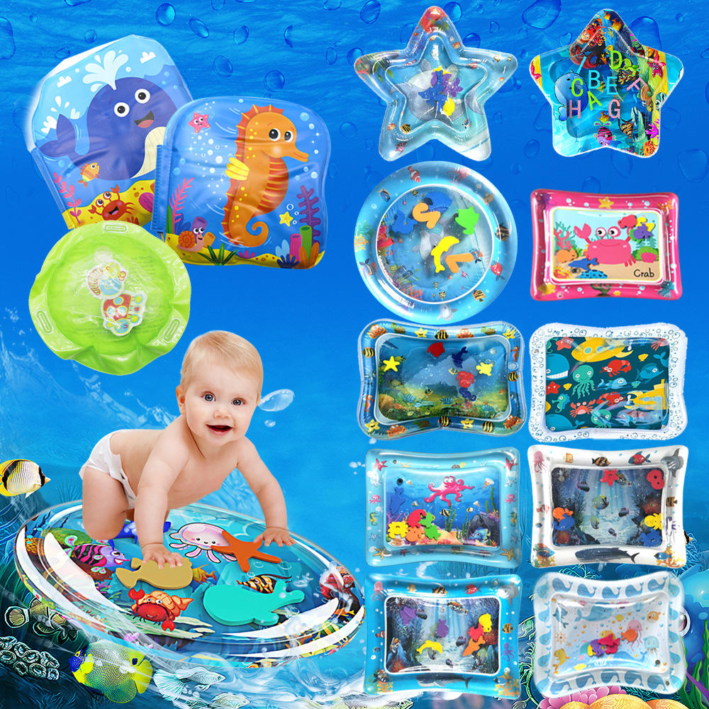 Brinquedos infláveis Water Play Mat Crianças Baby Toddlers Perfeito Fun Tummy Time Play