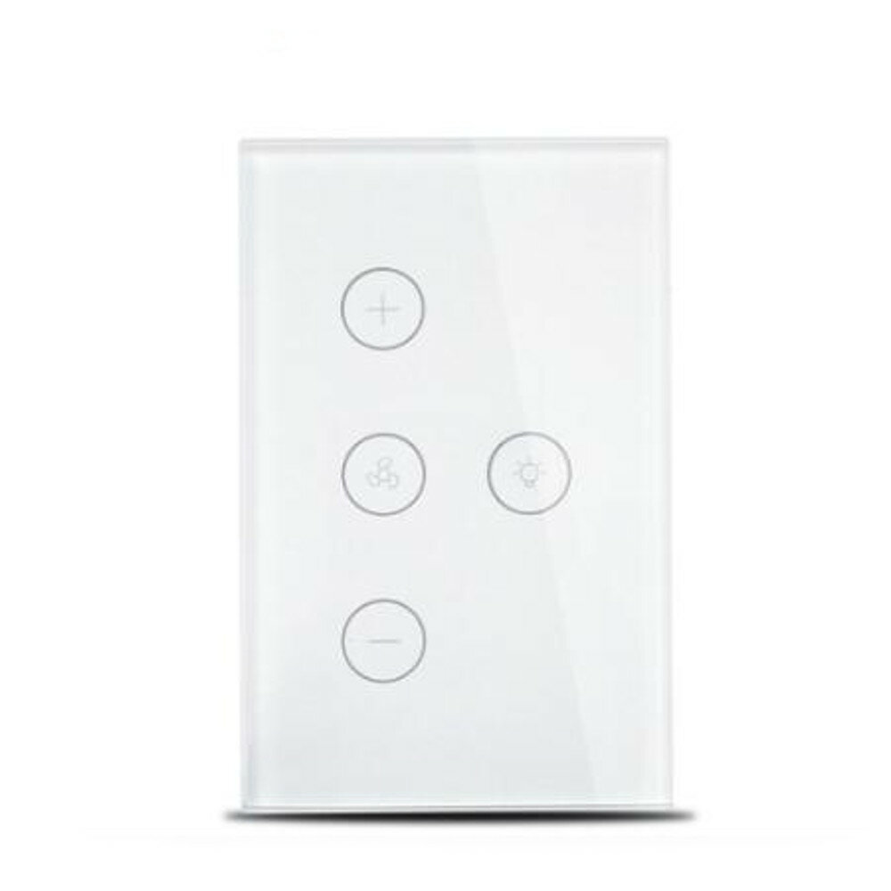 AC100-240V Smart Controller WiFi Fan Light Switch Compatible with Alexa Google Home Smart Life App