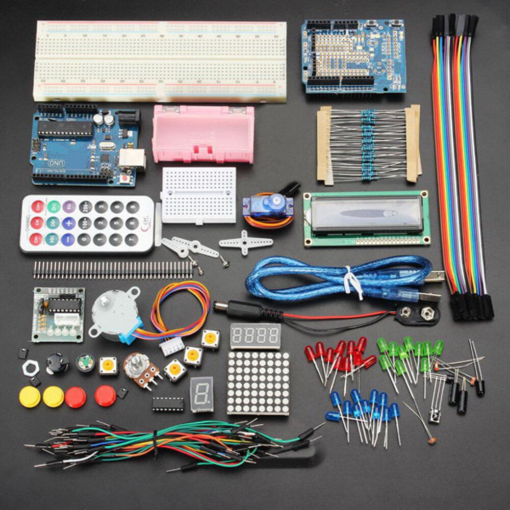 Geekcreit® UNO R3   ベーシック  スターター   学習キット バッテリー  無し  バージョン Arduino用