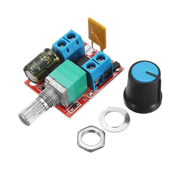 5V-30V DC PWM Controlador de velocidade Mini interruptor de controle de motor elétrico LED Módulo Dimmer