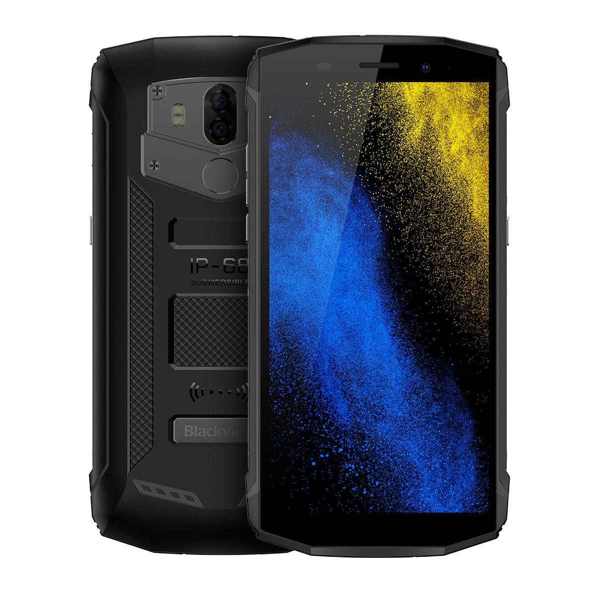 Blackview BV5800 Pro 5.5 Inch IP68 Android 8.1 Wireless Charging 2GB RAM 16GB ROM MT6739 Smartphone