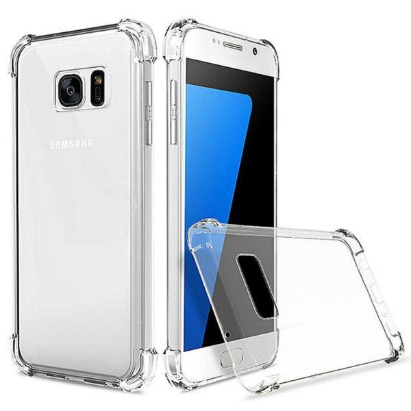 Air Cushion Corners Transparent TPU Case pour Samsung Galaxy S7 Edge