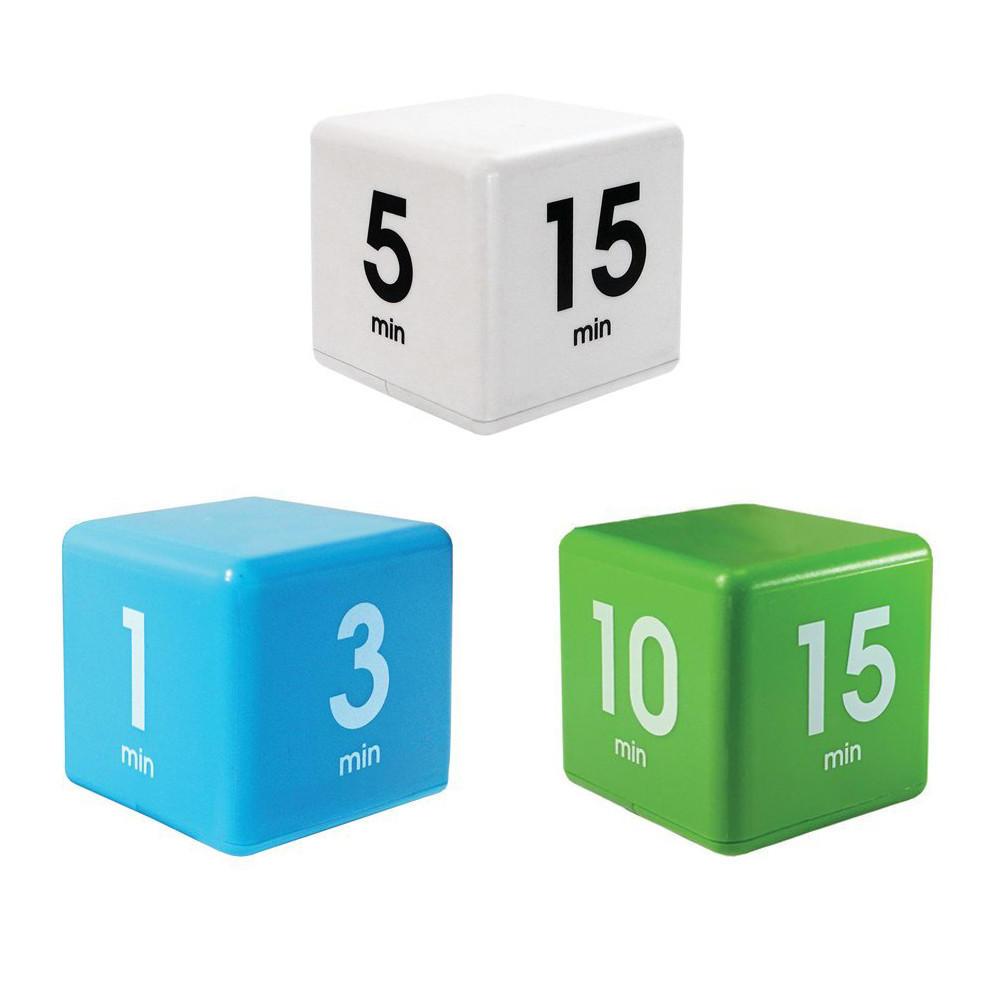 O Milagre Tempo Cube Temporizador 5/15/30/60 Minutos Para Gestão de Cozinha Crianças Temporizador Tempo de Treino Temporizador Digital