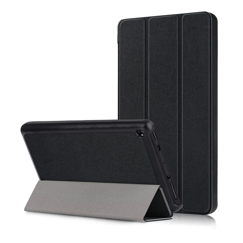 Tri-Fold Pringting Tablet Case Cover for New F ire HD 7 2019