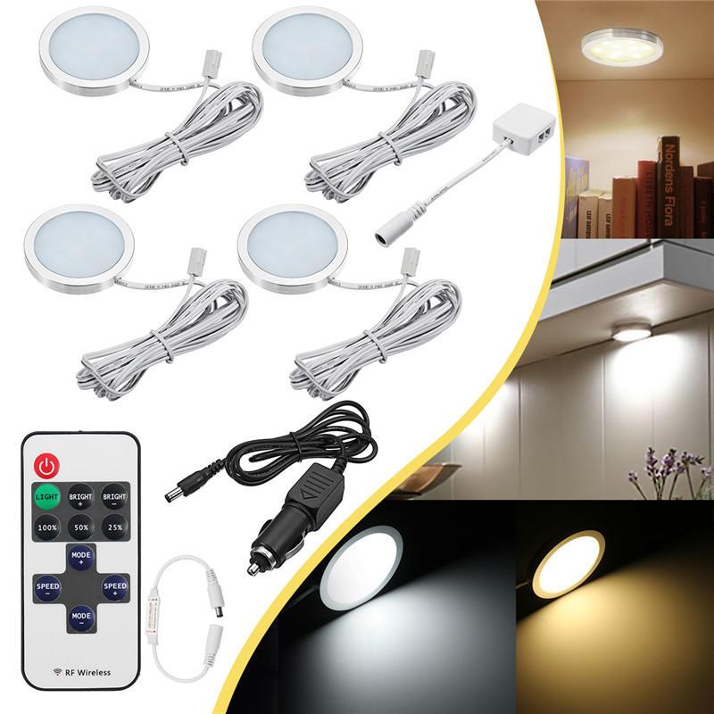 4pcs 12V LED da incasso a soffitto Light RV soffitto a soffitto Camper Trailer Boat lampada