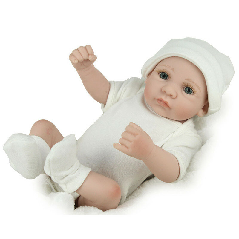 DOLL Real Life Baby Dolls Full Vinyl Silicone Baby Doll Birthday Gifts