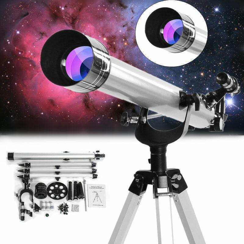 Uzay Göksel Gözlem için 675x Yüksek Büyütme Astronomik Refraktif Yakınlaştırma Teleskop