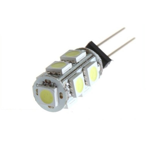 Car G4 9 SMD LED 5050 SMD Pure White Cabinet RV Boat light Bulb