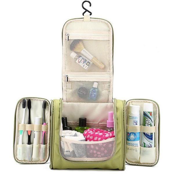 Multifonction Zipper Trousse de Toilette Voyage Organisateur Lavage Sacs De Stockage De Maquillage Sacs Cosmétique Cas