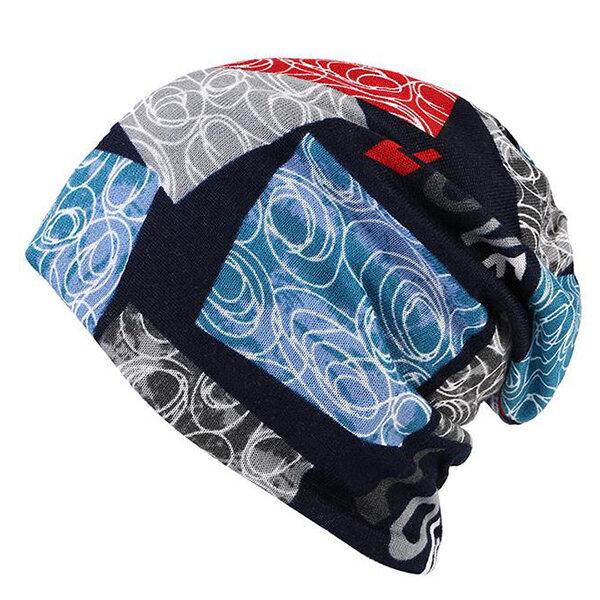 LOVE Baskın Beanie Şapka Kadın Çok fonksiyonlu Sonbahar Sıcak Boncuk Şapka ve Yaka Eşarp