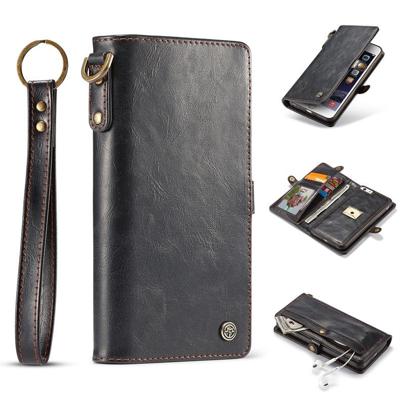 Caseme Wallet Card Slots abnehmbares Gehäuse für iPhone 6 6s 6 Plus & 6s Plus