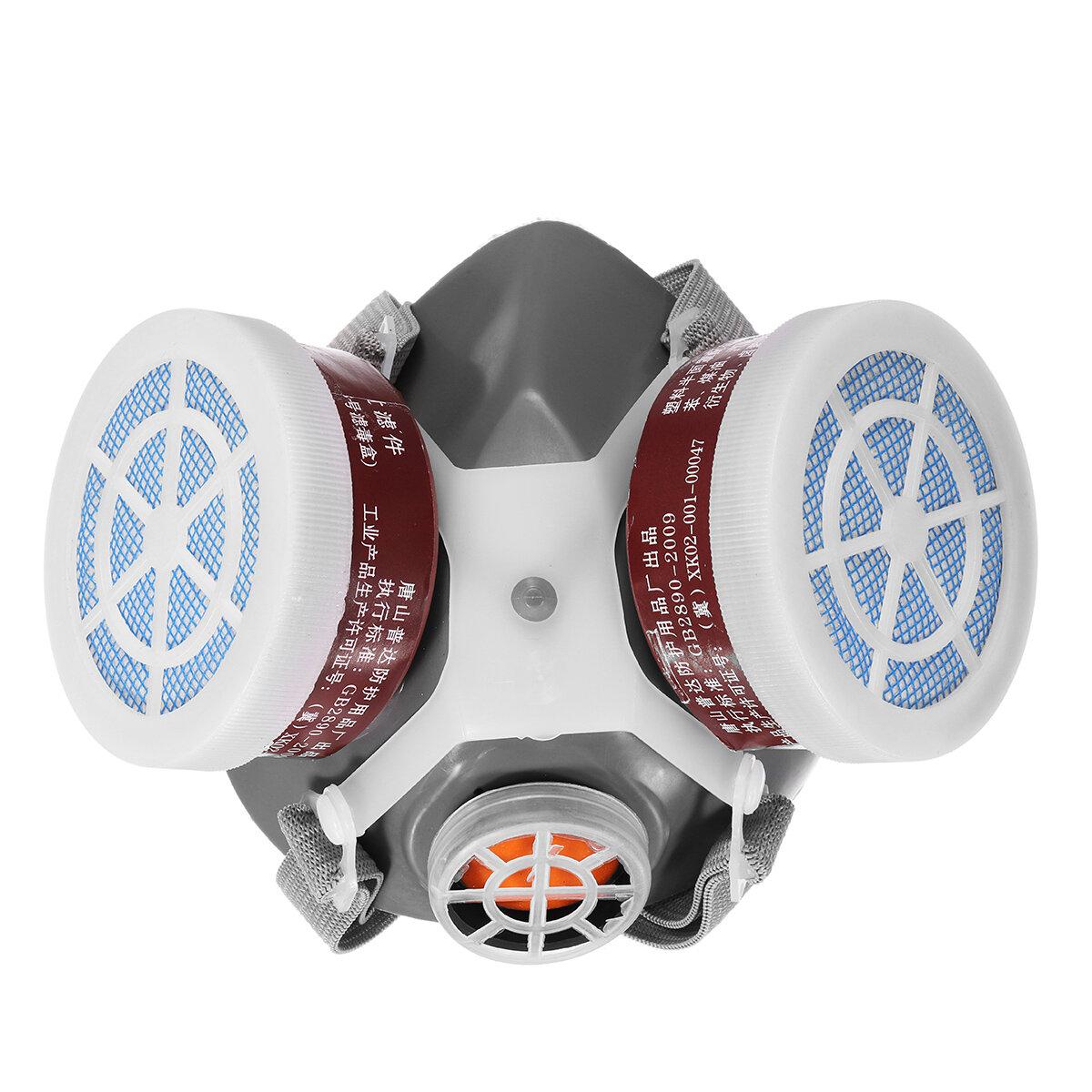 セーフティレスピレータガスマスク安全性化学防塵フィルタ軍事作業場の安全保護