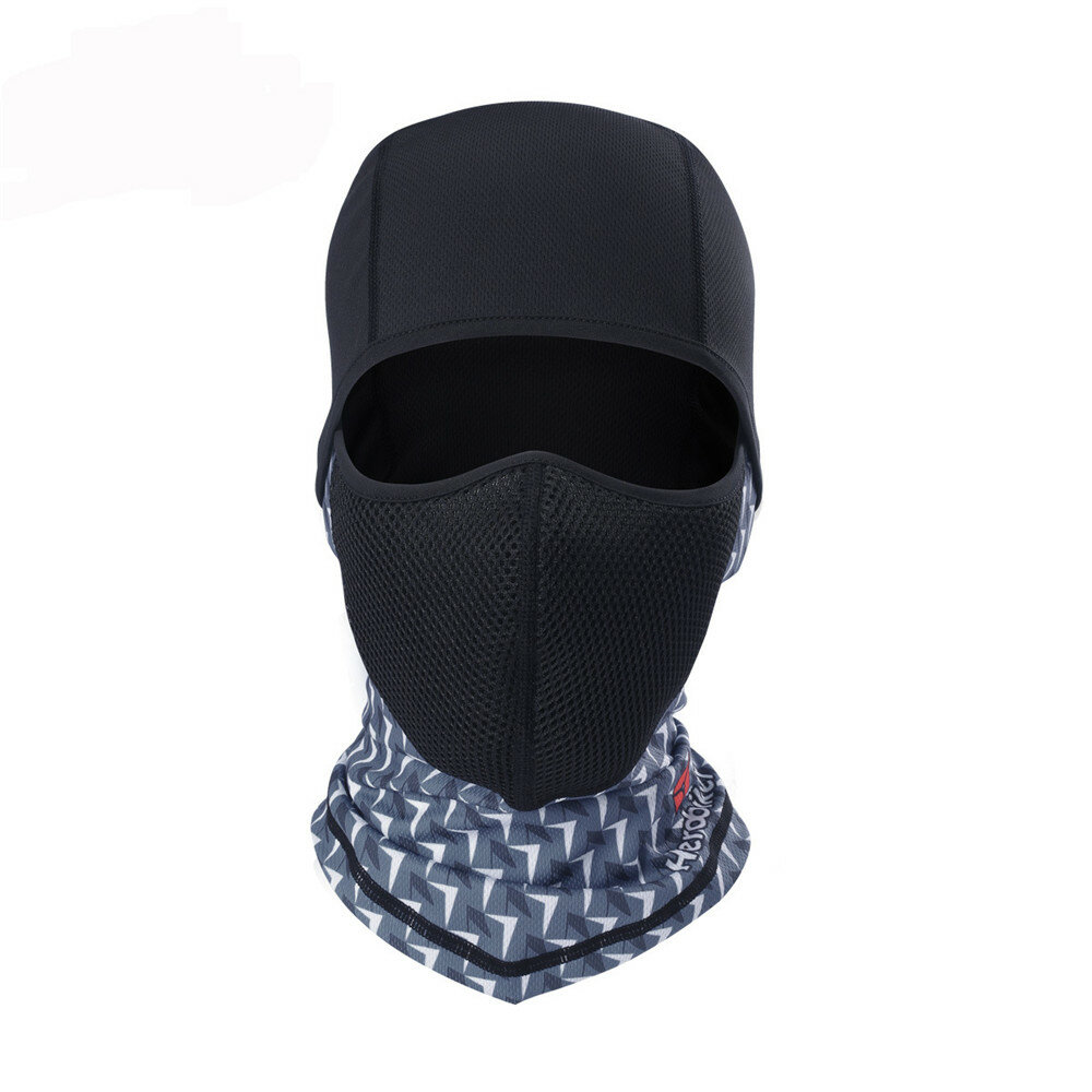 Herobiker Motorcycle Bicycle Outdoor Sun Protection Full Face Mask Breathable