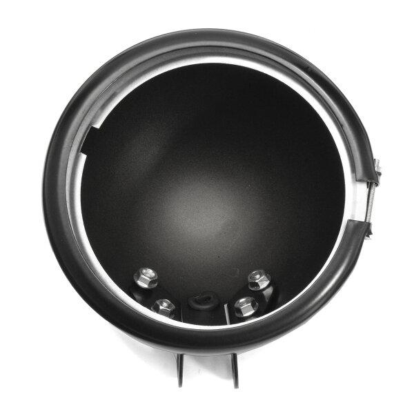 5.75 بوصة الأسود LED المصابيح الأمامية مصباح الإسكان جبل القوس ل Harley Davidson