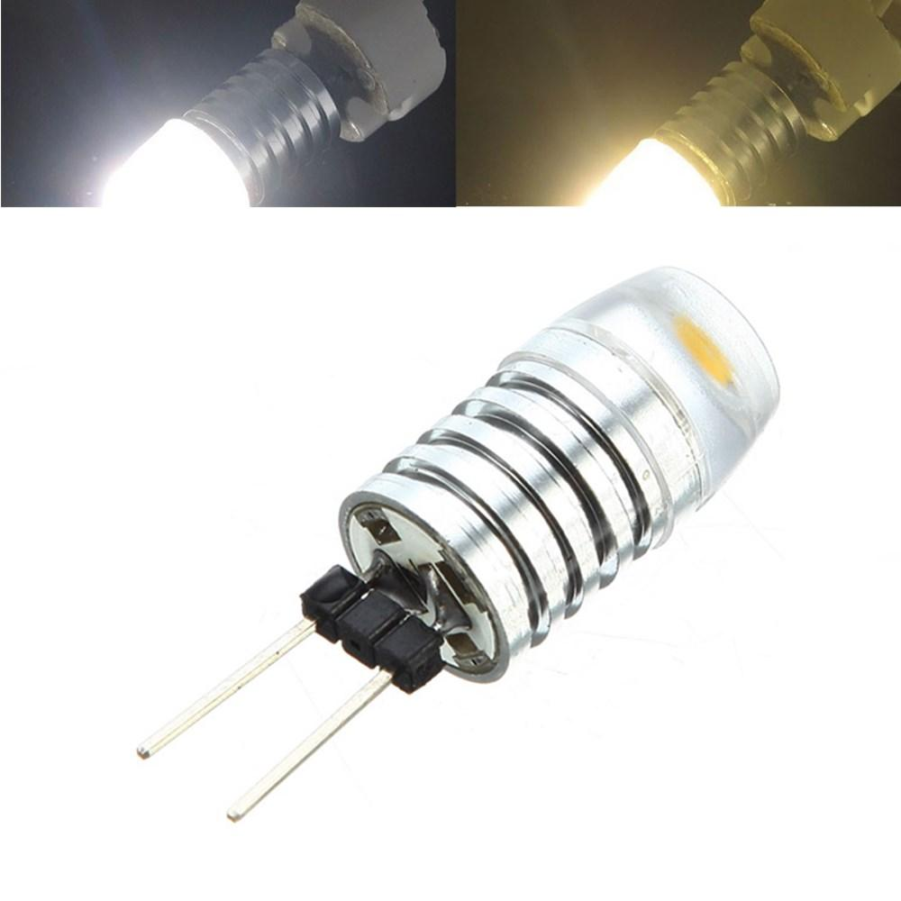 G4 3W LED-aluminium body light lamp Warm wit Pure White kroonluchter halogeenlamp DC12V
