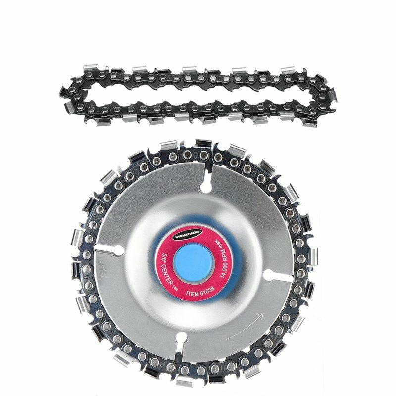 Disque de chaîne de broyeur de 4 pouces avec chaîne 2pcs
