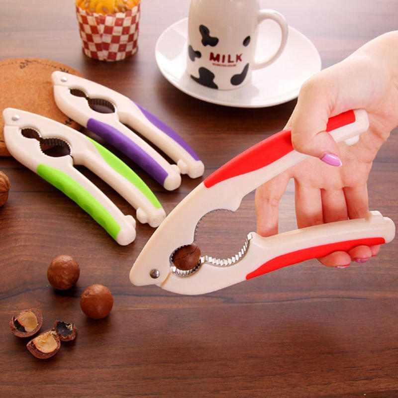 KCASA KC-WC03 Multi-fonction Quick Nut Pecan Noyer Cracker Sheller Clamp Plier Nutcracker Tool