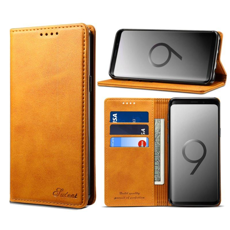 Bakeey Magnetic Flip Wallet Card Slot Phone Case For Samsung Galaxy S9