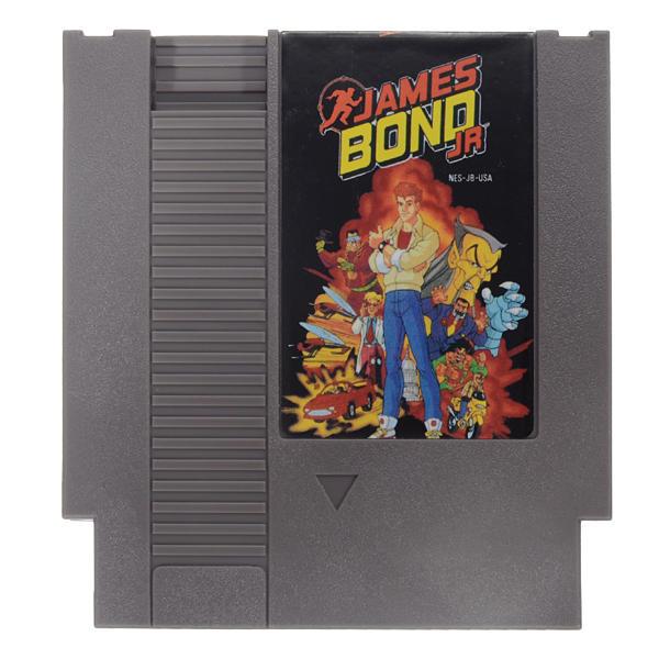 James bond jr 72 pin 8 bit cartucho de cartão de jogo para nes nintendo