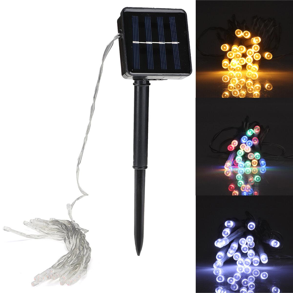 3M 20 LED String Light 8 Modes Солнечная Powered На открытом воздухе Рождественский свет